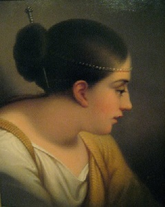 Erinna by Rembrandt Peale (1778-1860)